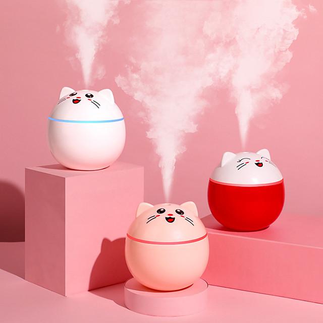 200 ml ovlaživač zraka za mačke usb ultrazvučni difuzor arome mini aparat za maglu sa LED svjetlima prijenosni uredski pročistač zraka