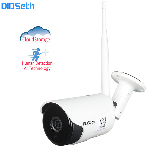 DIDSeth  2 mp IP Camera Outdoor Wireless Security Camara CCTV  IP66 Waterproof  Support 64G 32G