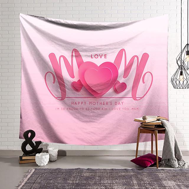 壁のタペストリーアート装飾毛布カーテンぶら下げ家の寝室のリビングルームの装飾ポリエステル愛