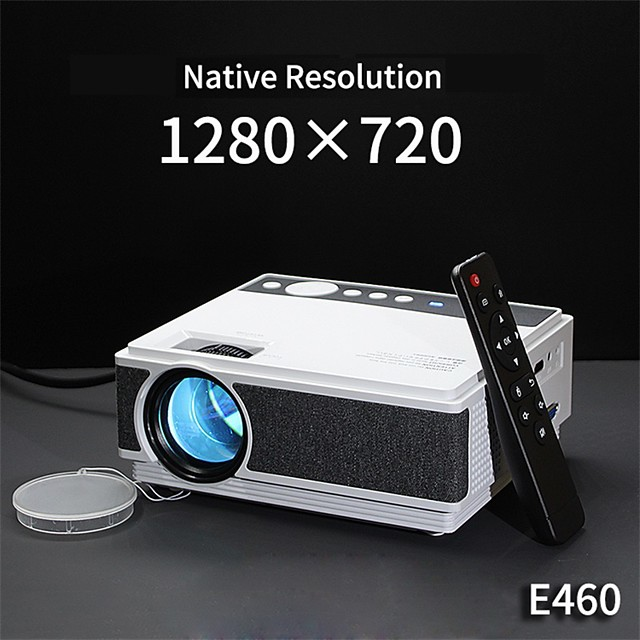 E460 Mini Projector LED Projector 3500 lm Android WIFI Projector