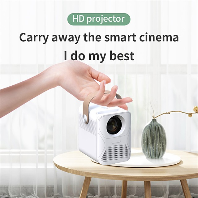 Factory Outlet X6HW Mini Projector LED Projector 2600 lm Android6.0 WIFI Projector