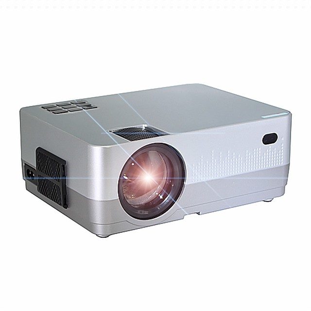 HQ2 Mini Projector LED Projector 500 lm Keystone Correction