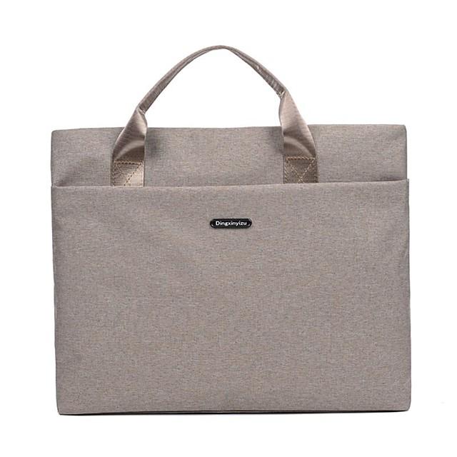 Unisex Bags Nylon Top Handle Bag Zipper Solid Color Daily Office & Career 2021 Handbags Black Blushing Pink Khaki Gray