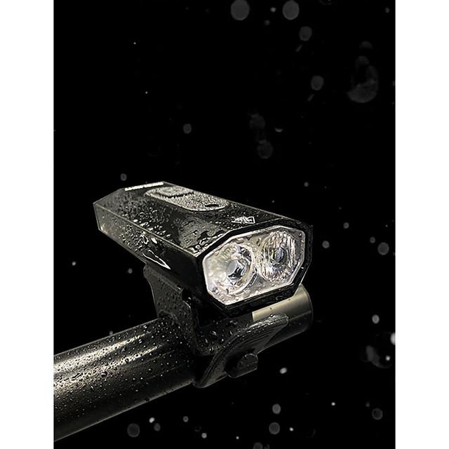 LED デュアルLED 自転車用ライト 防水 自転車用ヘッドライト 安全ライト LED バイク サイクリング 防水 スーパーブライト パータブル USB充電出力 充電式リチウムイオン電池 1200 lm 内蔵リチウム電池駆動 ナチュラルホワイト キャンプ / ハイキング / ケイビング サイクリング