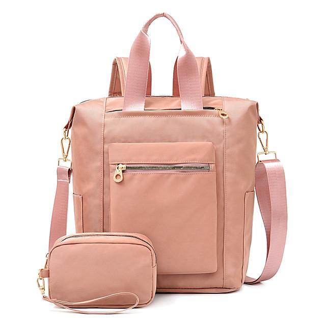 Women's Bags Bag Set Daily Office & Career Handbags Black Purple Blushing Pink Dark Blue