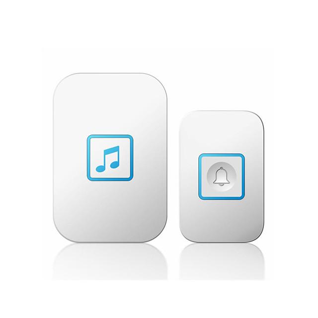 A86 Wireless One to One Doorbell Music Non-visual doorbell / Waterproof / Sound adjustable Surface Mounted Doorbell