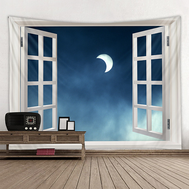 Wall Tapestry Art Decor Blanket Curtain Hanging Home Bedroom Living Room Decoration and Modern and  Sky / Galaxy