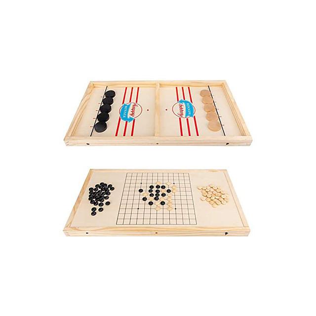 2 in 1 Winner Board Games Toys Ice Hockey Game Table Desktop Battles Games for Parent-Child