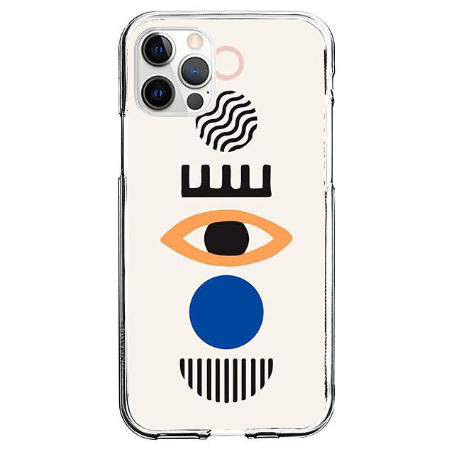 Kreativ telefon Sag Til Apple iPhone 12 iPhone 11 iPhone 12 Pro Max Unikt design Beskyttelsesetui Mønster Bagcover TPU