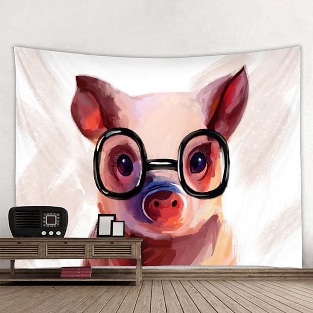 Tapisserie murale art décor couverture rideau suspendu maison chambre salon décoration et moderne et animal