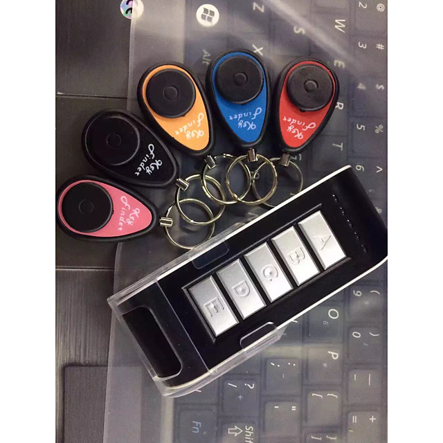 Key Finder Smart Gear Plastic Finder keys Tracker 0.03 kg for Wallet / Phone / Luggage / Purse / Backpack / Laptop / Car Keys Support Remote Control
