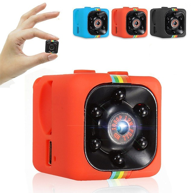 SQ11 1080p with Rear Camera Car DVR Wide Angle Dash Cam with Fast recording Car Recorder