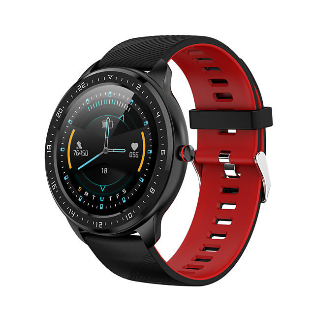 SMA Z06 Smartwatch Fitness Watch for Android iOS Samsung Xiaomi Apple Bluetooth 1.3 inch Screen IP 67 Waterproof Touch Screen Heart Rate Monitor Timer Stopwatch Pedometer Men Women / Sports