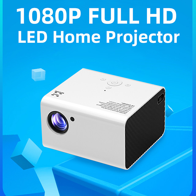 T10 Full HD Led Projector Portable Home Theater Video Projector 4000 Lumens 1080P Support USB HDMI Beamer Android