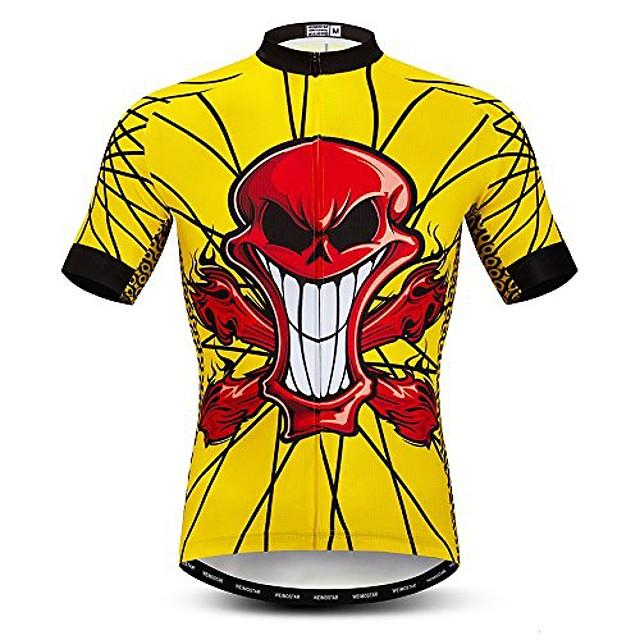 cycling jersey men's short sleeve biking shirts