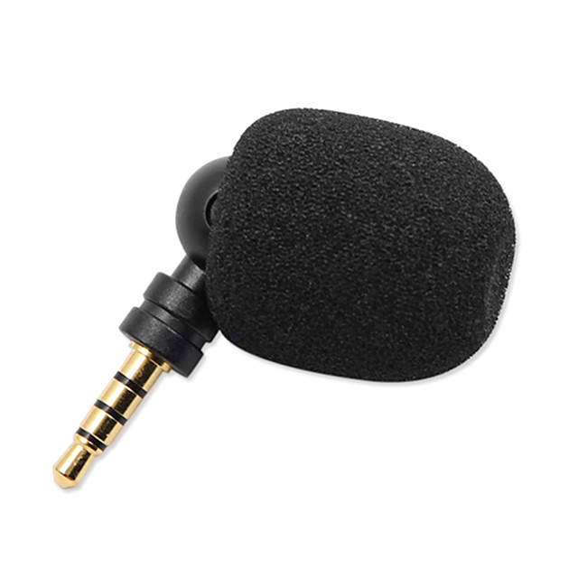 3.5mm Plug-in Condenser Microphone For Skype PC Voice Amplifier