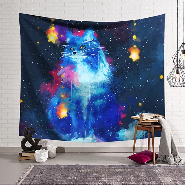 tapeçaria de parede decoração de arte cobertor cortina pendurada em casa decoração de sala de estar e estilo moderno e pintura