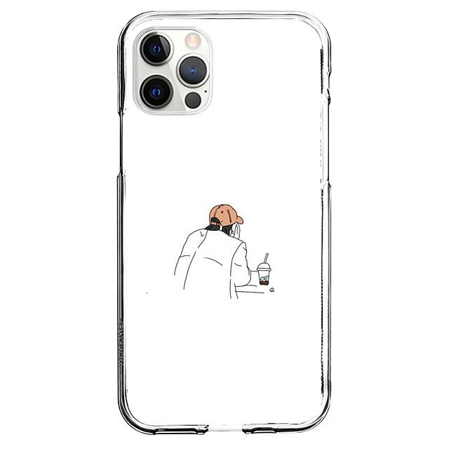 Kreativ Karakterer telefon Sak Til Apple iPhone 12 iPhone 11 iPhone 12 Pro Maks Unikt design Beskyttelsesveske Mønster Bakdeksel TPU