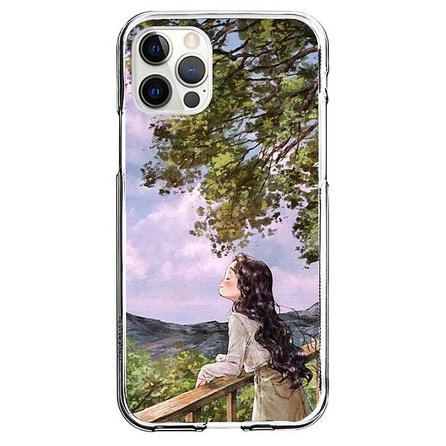 창의적 캐릭터 전화 케이스 에 대한 Apple 아이폰 12 아이폰 11 아이폰 12 프로 맥스 독특한 디자인 보호 케이스 패턴 뒷면 커버 TPU