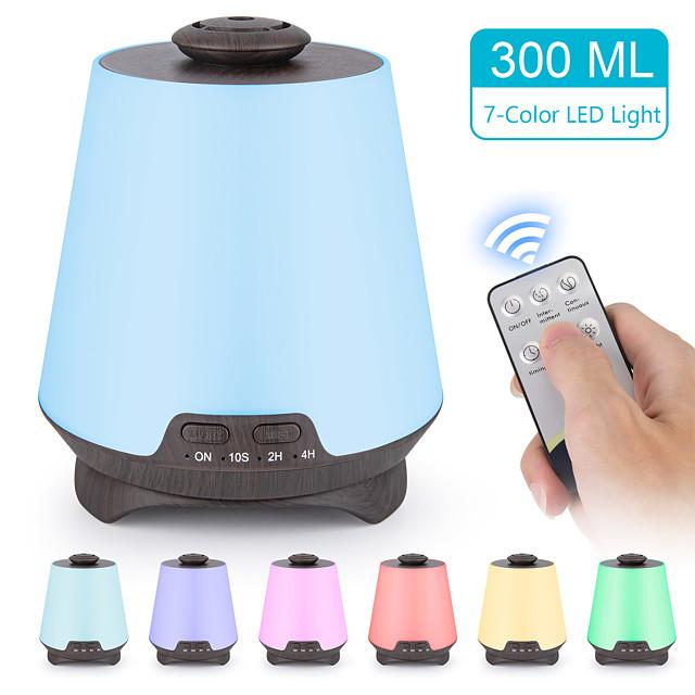 difuzor esencijalnog ulja premium 5 u 1 ultrazvučni aromaterapijski mirisni difuzor ulja isparivač ovlaživač vremena ovlaživač i bezvodno automatsko isključivanje 7 LED svijetlih boja