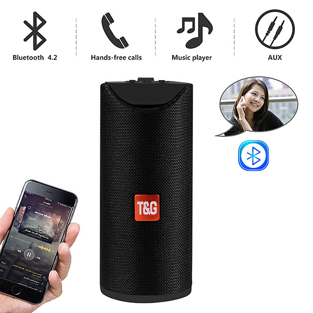 T&G TG113A Outdoor Speaker Wireless Bluetooth Portable Speaker For PC Laptop Mobile Phone