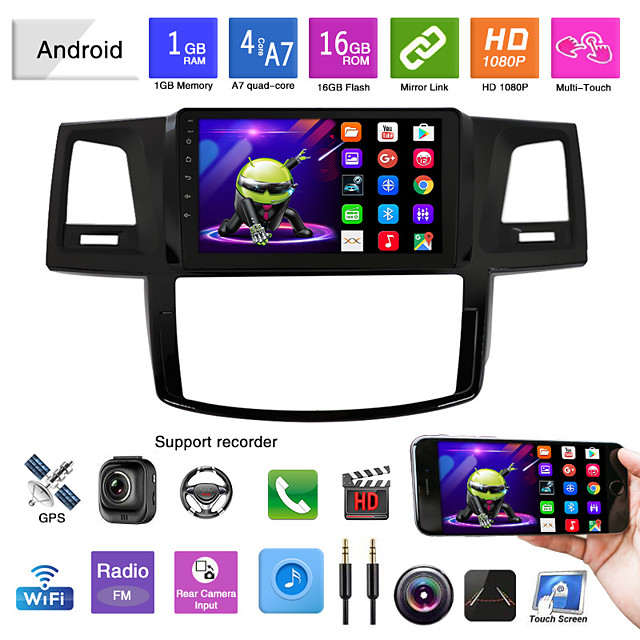 suitable for toyota hilux navigation android navigator all-in-one wifi car player hilux