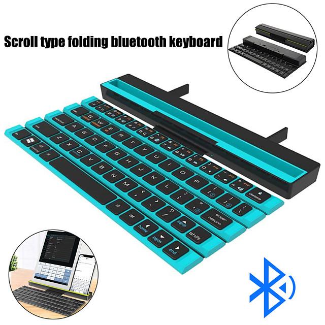 tastatură Bluetooth fără fir mini tastatură pliabilă tastatură portabilă cu stil pliabil pentru laptop / laptop laptop computer