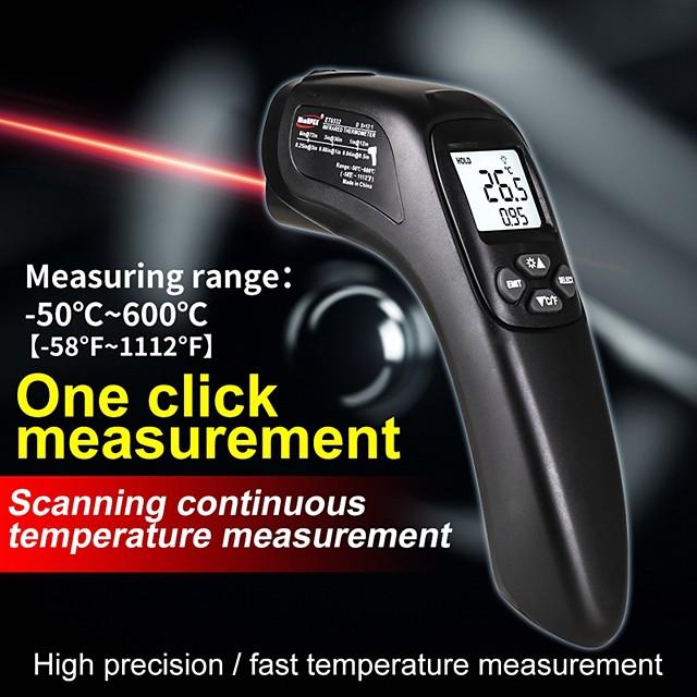 winapex et6532 -50℃~600℃ infrared high precision thermometer laser digital industrial ir non contact temperature measurement