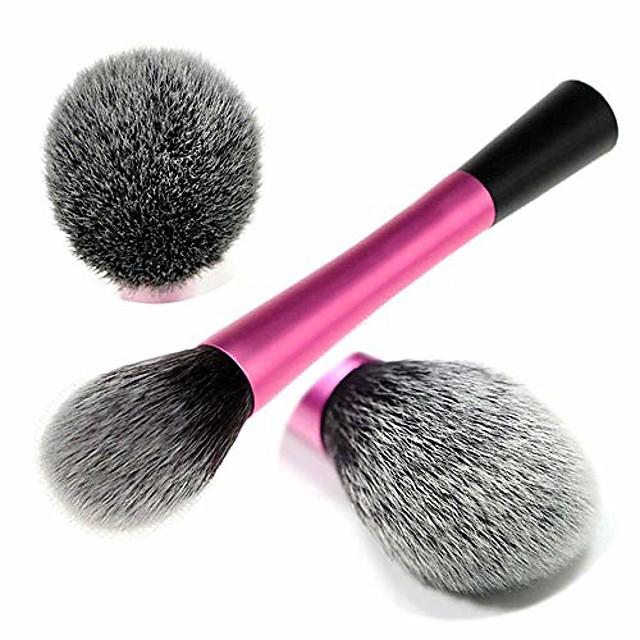 exquisite gray makeup brush loose powder brush blush repairing eye shadow fiber brush 1 stick makeup brush (color : fuchsia)