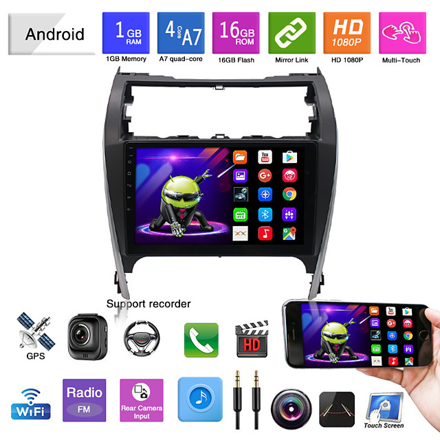 adatto per noi versione 12-14 toyota camry car android navigator all-in-one wifi player