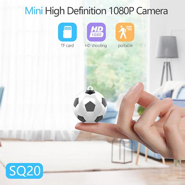 mini football action camera 1080p hd camcorder wifi home security camera night vision dv dc video voice recorder camera sq20 cam