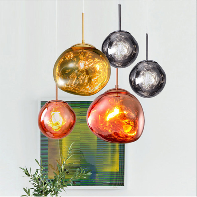 LED Pendant Light Modern Fashion 20/30/40 cm Single Design Metal LED Nordic Style 110-240 V