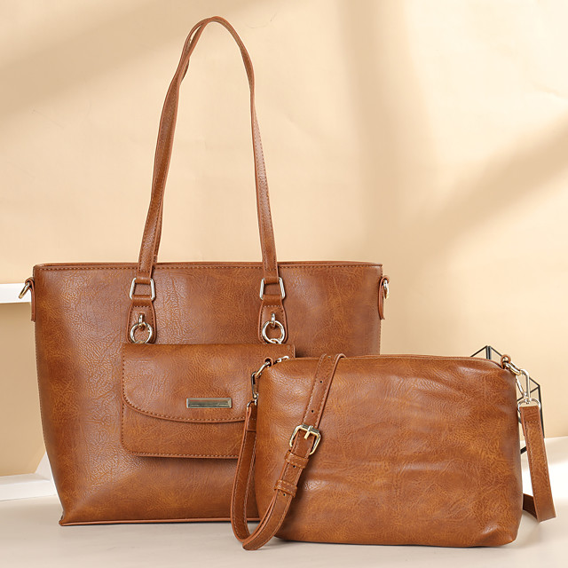 westal handbags new tow special mother-in-law bag simple fashion one-shoulder diagonal handbag vegan leather