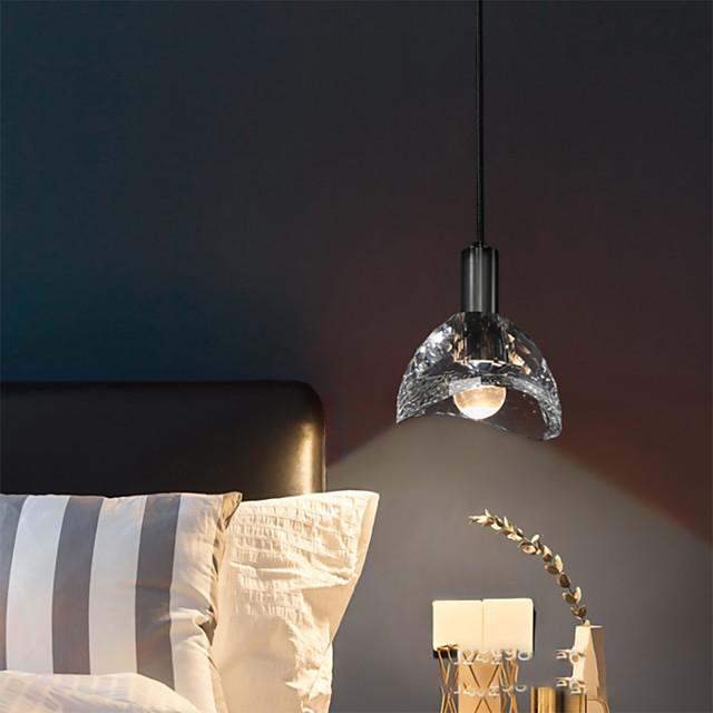 LED Pendant Light Bedside Light Modern Single Design Copper LED Nordic Style 110-240 V