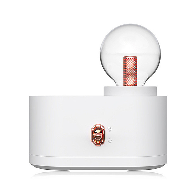 Chihiro Lamp Humidifier Household USB Wireless Bulb Smart Humidifier Charging Portable Small Water Replenishment Meter