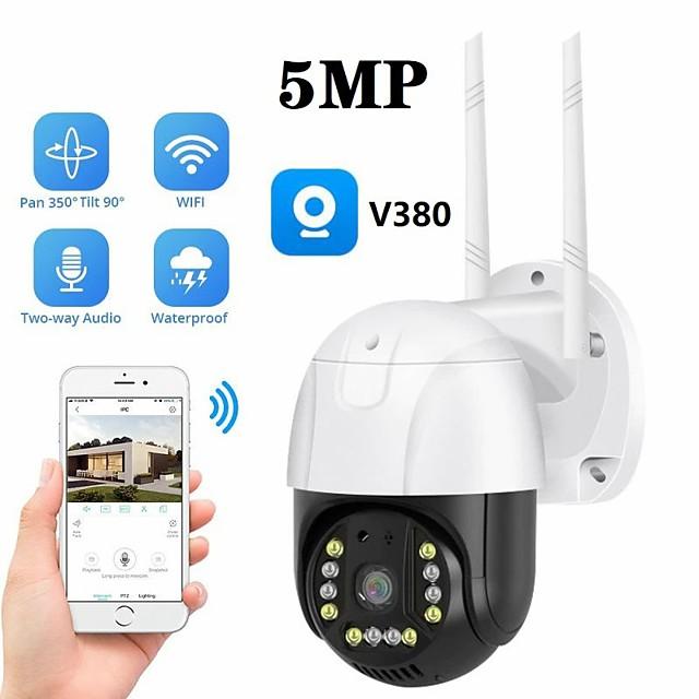 v380 ball machine wifi wireless surveillance camera home outdoor high-definition security 360 camera ball machine 1080p