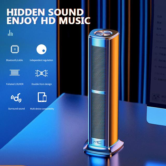 F3 Bluetooth Speaker Wireless Alarm Clock Home Mobile Phone Mini Audio Subwoofer Smart Volume Dual Speakers 3d Surround