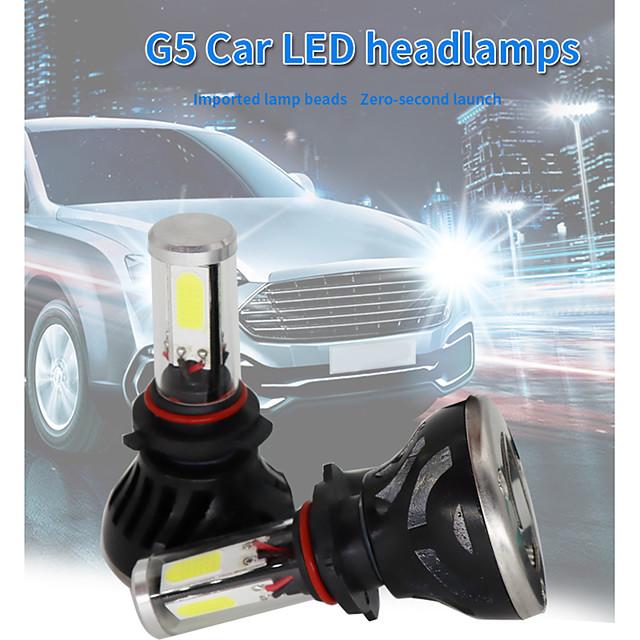 G5 LED Headlight Kit H7 40W IP67 Waterproof LED Conversion Kit H4 H11 9006 2pcs