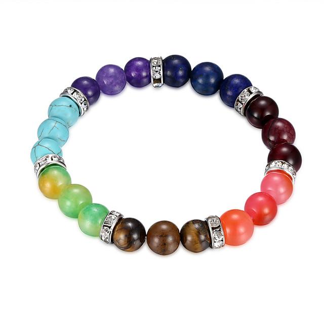 Women's Resin Bead Bracelet Classic Flower Fashion Alloy Bracelet Jewelry Rainbow For Anniversary Date Festival