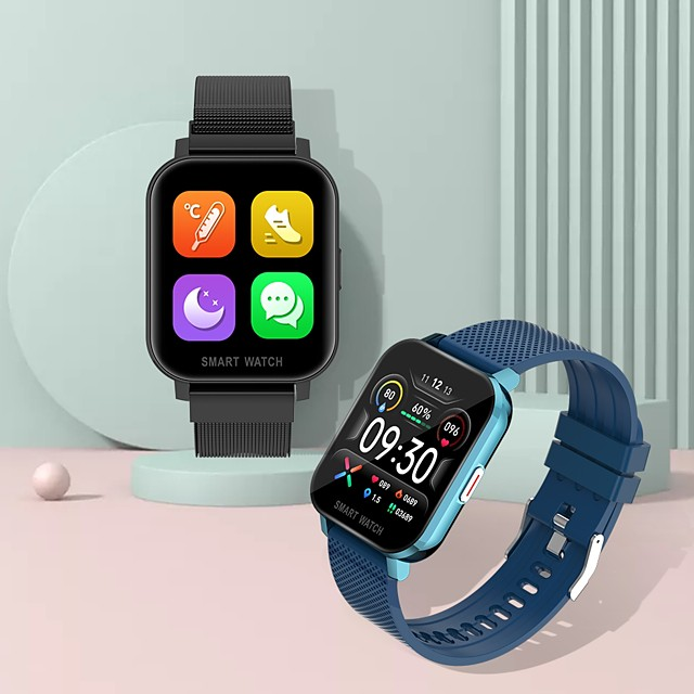 MT28 Smartwatch for Apple/ Android Phones, Sports Tracker Support Heart Rate / Blood Pressure Measure
