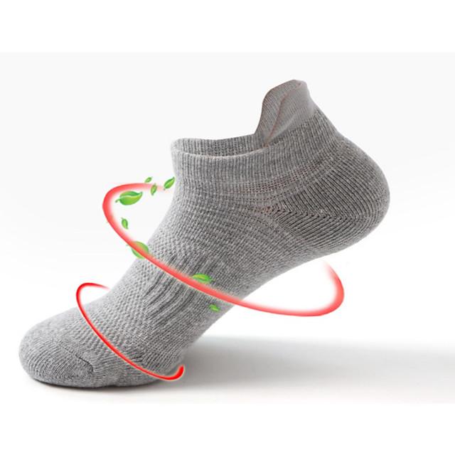 Calcetines protectores de tobillo para hombre básicos litb calcetines deportivos antideslizantes de algodón peinado transpirable talla única eu 39-45 para hombre