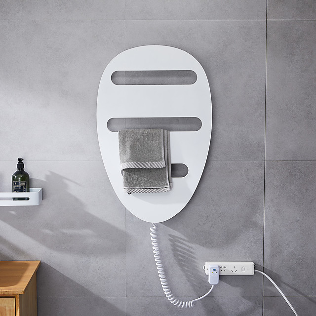 Intelligent Electric Heating Towel Rack Graphene Bathroom Wall Hanging Rack Bathroom Towel Rack Constant Temperature Drying Rack Household