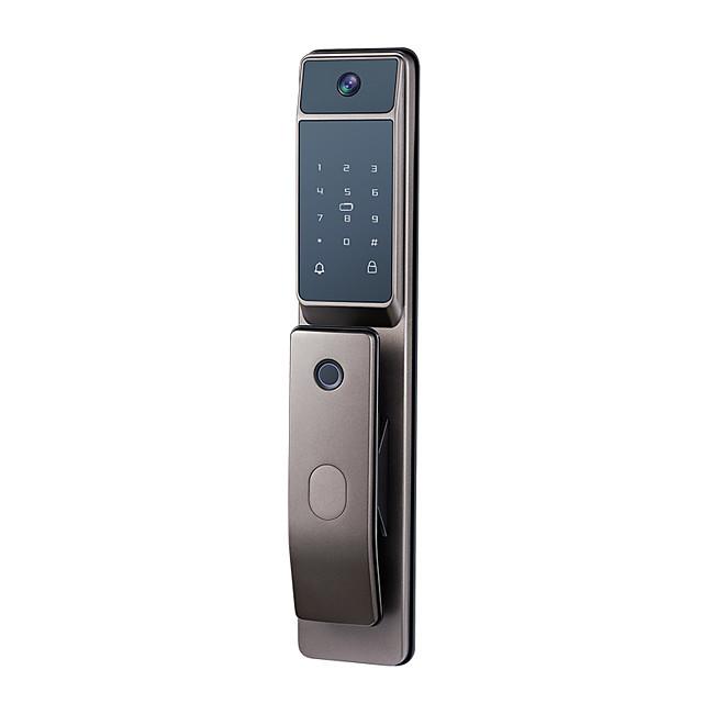 p11 prosta blokada linii papilarnych gniazdo domowych drzwi antywłamaniowych automatyczny inteligentny zamek z elektronicznym zamkiem kocie oko