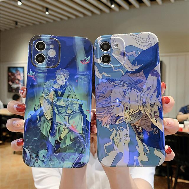 Jujutsu Kaisen Phone Case For Apple Back Cover iPhone 12 Pro Max 11 SE 2020 X XR XS Max 8 7 Shockproof Dustproof Cartoon TPU