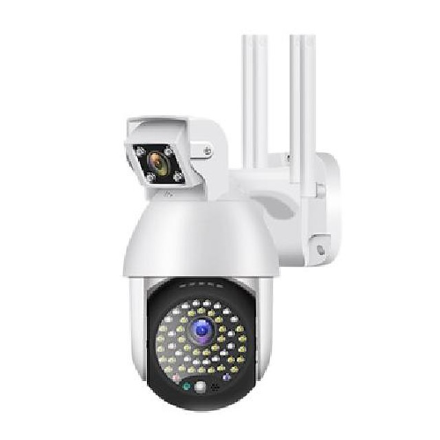 ptz camera outdoor waterproof 1080p hd motion tracking ip binocular security camera mini wireless wifi camera-eu plug