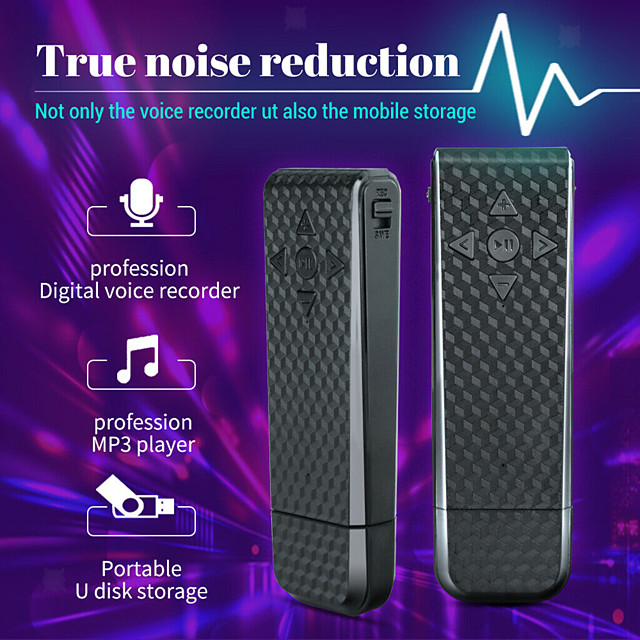 USB & Micro USB Voice Activated Audio OTG Dictaphone Recorder for Meetings