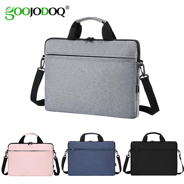 torba na laptopa 13,3 14 15,6 cala wodoodporny pokrowiec na notebooka do komputera Macbook air pro 13 15 torebka na ramię torby aktówka