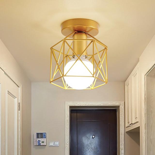 led mini tavan ışık sundurma ışık koridor ışık modern altın 15 cm hat tasarımı ada tasarımı gömme montaj ışıkları metal vintage stil klasik şık boyalı yüzeyler ülke nordic tarzı 110-120v 220-240v