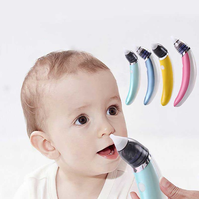 Electric Nasal Aspirator Cleaner For Babies Newborns Feces Infants And Toddlers
