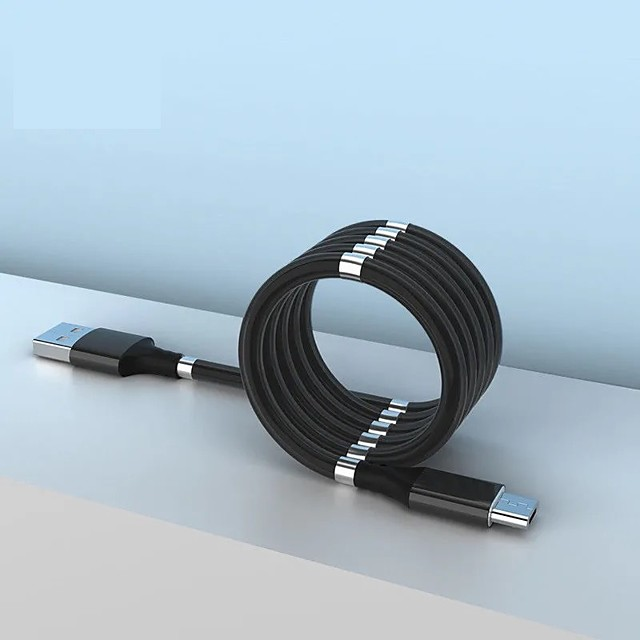 micro-USB USB C Kabel High-Speed Snelle kosten Dataoverdracht 2.4 A 1.8M (6Ft) PVC Voor Xiaomi MI Samsung Huawei Mobiele telefoonaccessoire